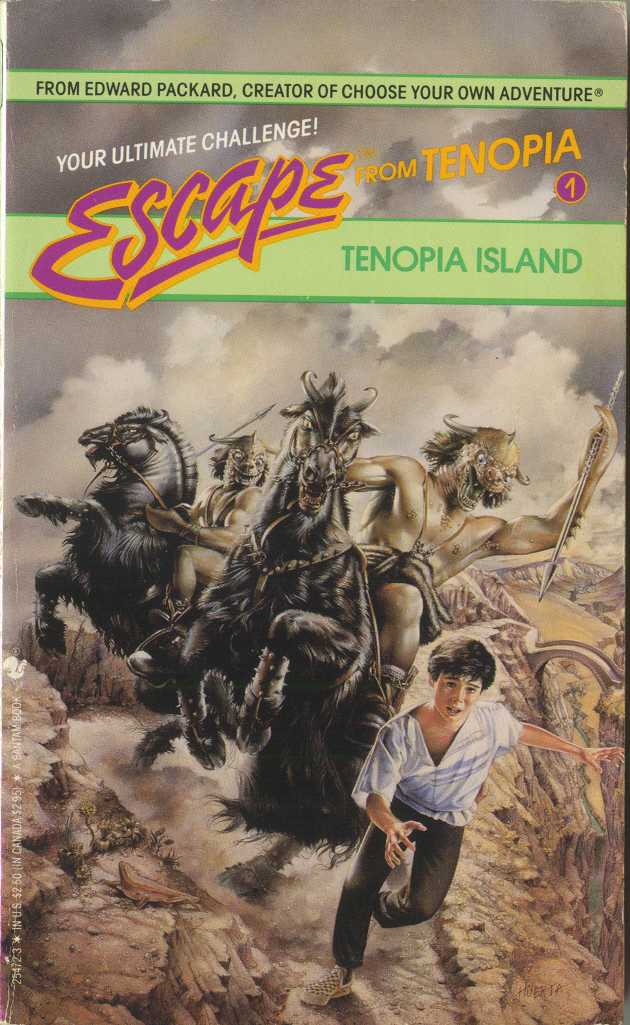 Escape from Tenopia Island